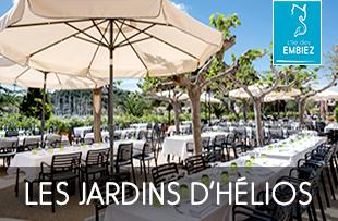 Les Jardins d'Hélios Restaurant Italien aux Embiez à Six Fours