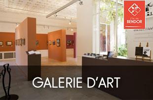 exposition à la Galerie d'art de Bendor