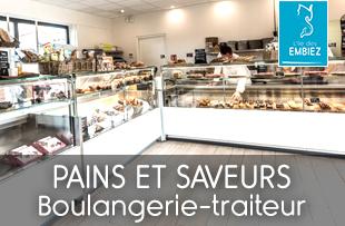 Boulangerie-traiteur sur l'île des Embiez