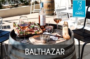 Bar à vin sur l'île des Embiez à Six Fours
