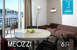 Location d'appartement en bord de mer sur l'île des Embiez