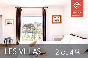 Location de Villa pour 2 à 4 personnes sur l'île de Bendor