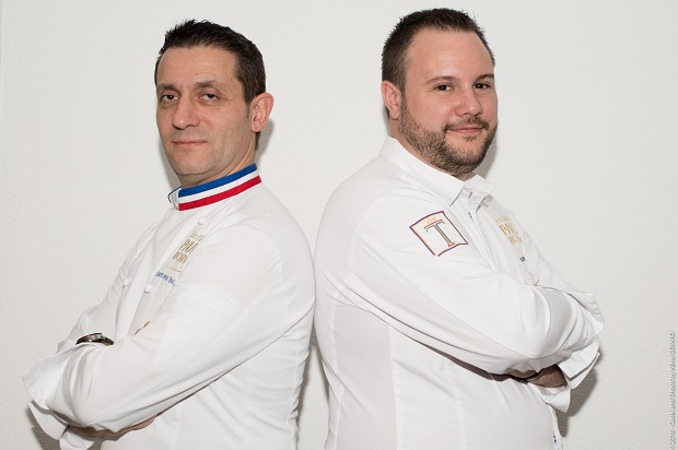 Automne des Gourmands 2018 - Christophe Pacheco, Chef exécutif des Iles Paul Ricard et Julien Richard, Adjoint des cuisines des Iles Paul Ricard