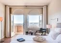 L'hôtel Delos 4 étoiles sur l'île de Bendor au large de Bandol