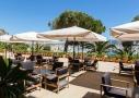 L'hôtel Hélios 4 étoiles et son bar sur l'île des Embiez, à proximité de Sanary