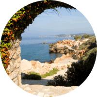 Panorama sur l'île de Bendor