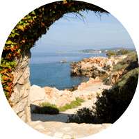 Panorama sur l'île de Bendor - Paul Ricard