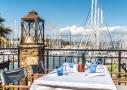 Restaurant gastronomique Le Garlaban sur l'île des Embiez