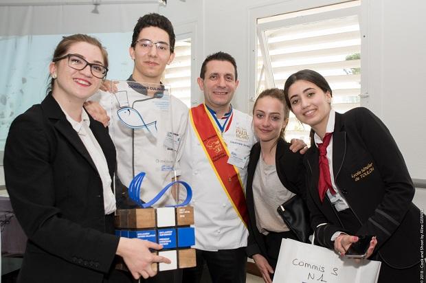 Equipe 5 gagnante du concours Terroir et Peche durables en Provence