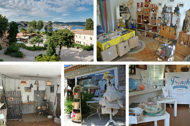 boutiques de créateurs sur l'île de bendor