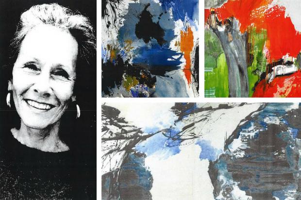 Diane de Cicco, artiste peintre du 9ème Symposium de peinture Paul Ricard