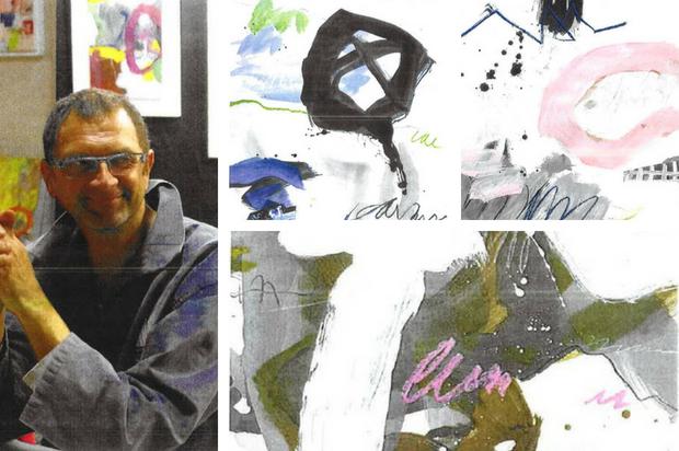 Jean-Charles Millepied, artiste peintre du 9ème Symposium de peinture Paul Ricard