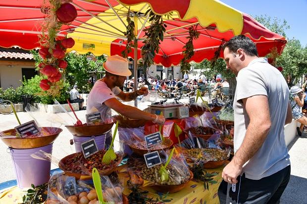 marché de la camargue aux embiez