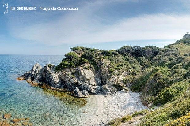 plages et criques de l'île des embiez
