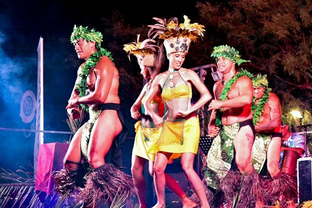 Soirée tahitienne pour le week-end pacific days