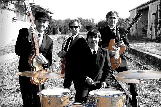 Groupe British legend en concert aux Embiez pour soirée plage