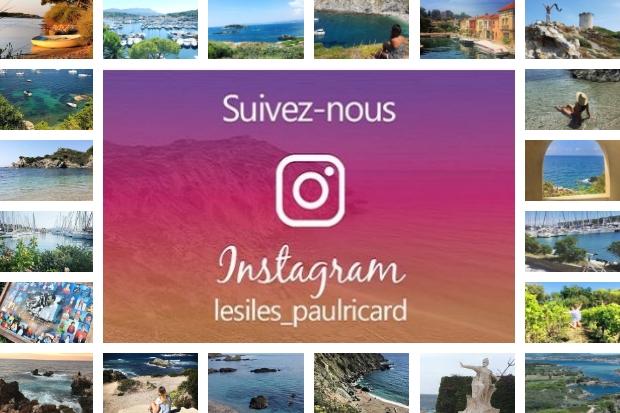 été sur Les Iles Paul Ricard avec le compte instagram