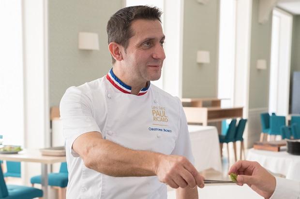 Chef Christophe Pacheco Meilleur Ouvrier de France 2011 parrain de l'automne des gourmands 2018