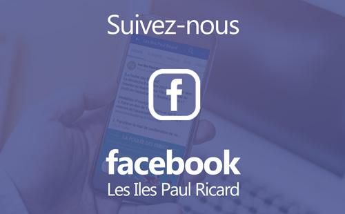 Page Facebook Les Iles Paul Ricard Bendor et Les Embiez