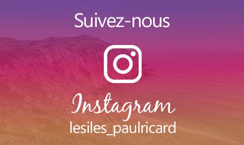 Compte Instagram Les Iles Paul Ricard Bendor et Les Embiez