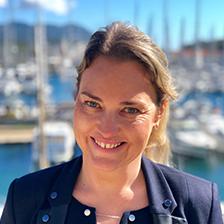 laetitia l'haridon séminaire ou événement dans le var sur une île proche de Toulon