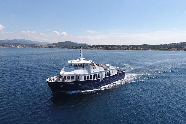Navette maritime pour les Iles Paul Ricard