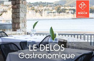 Le Delos restaurant gastronomique sur l'île de Bendor