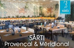 SARTI restaurant ouvert à l'année sur l'ile des Embiez