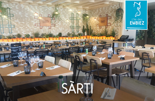 Nouveauté 2019 : le restaurant SÀRTI sur l'île des Embiez
