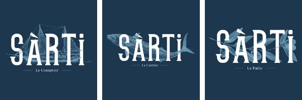 Les 3 univers du Sarti nouveau restaurant sur les embiez