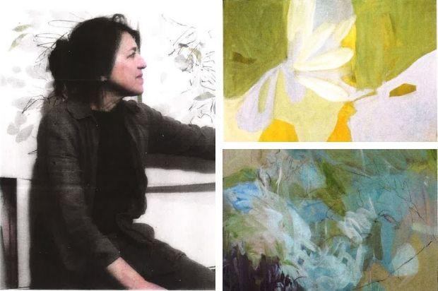 Isabelle BERAUT, peintre candidate au Symposum de peinture Paul Ricard
