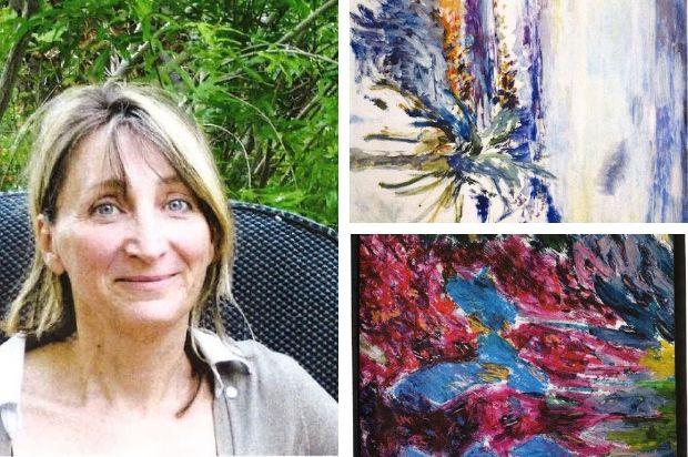 Michele Henot, peintre candidate au Symposum de peinture Paul Ricard