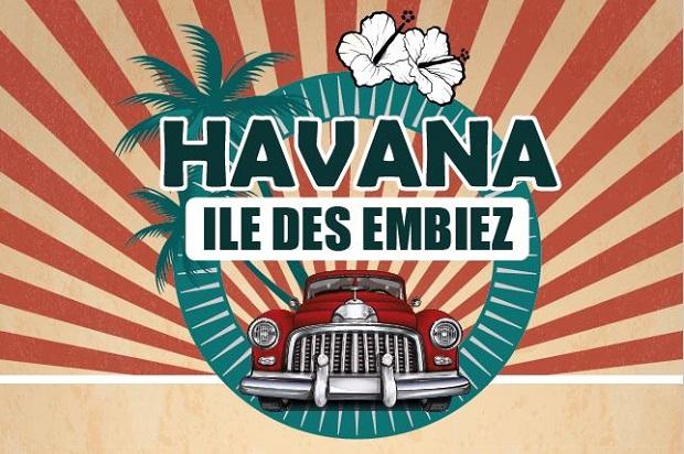 Journée et soirée Havana sur l'île des Embiez le 17 août 2019
