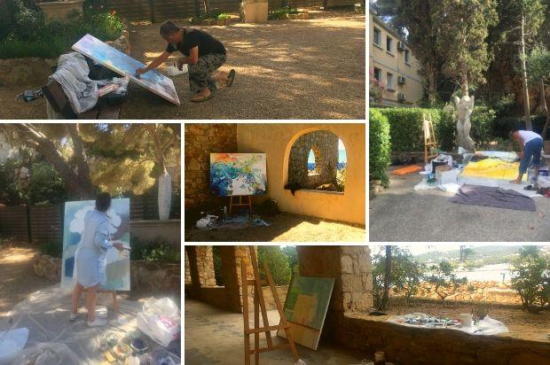 10ème symposium de peinture Paul Ricard