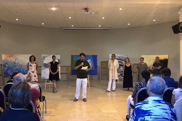 Le jury du 10ème symposium de peinture paul ricard