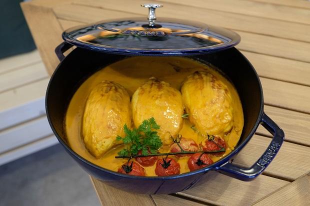 la quenelle de rascasse est un plat phare au sarti sur l'ile des Embiez ouvert à l'année