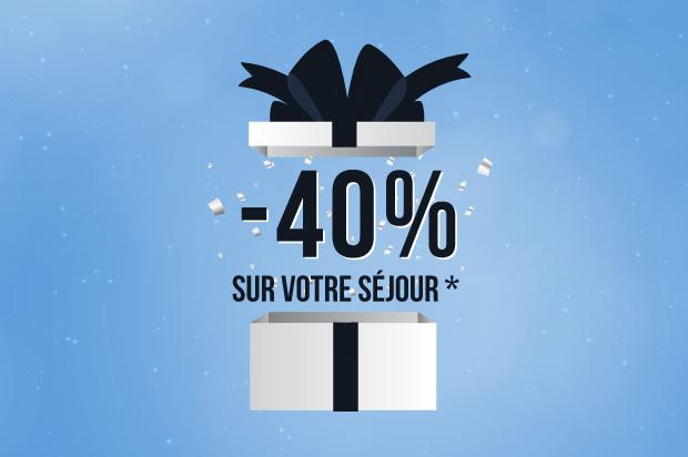 Promo 40% séjour embiez Blue Monday