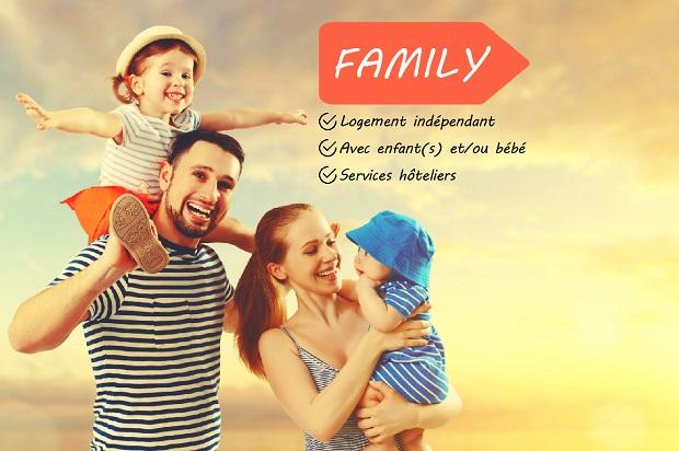 Family c'est des vacances en famille sur l'île des Embiez dans le var