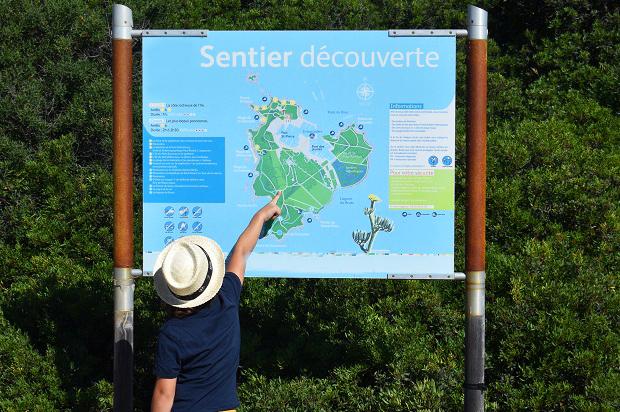 Sentier découverte nature Embiez